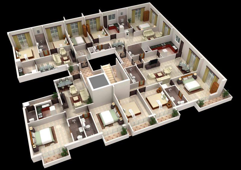 Span Tower 11 Floor Plan 3d
